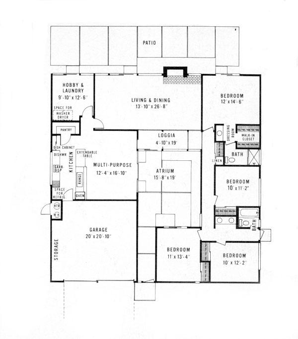 Eichler Home Plans House Design